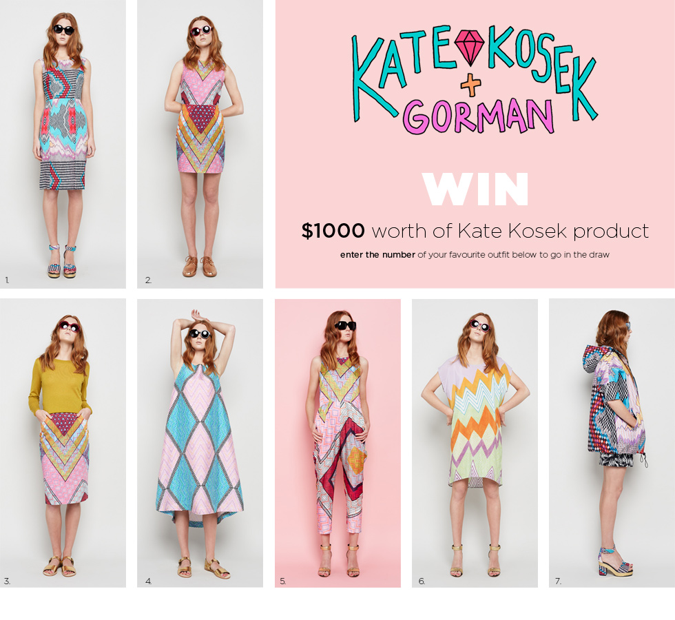 Win $1000 worth of Kate Kosek product