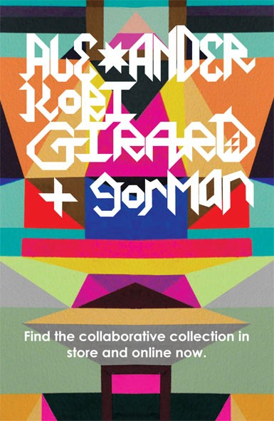 Gorman & Alexander Kori Girard Collaboration