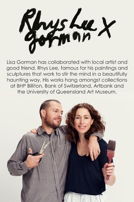 Gorman & Rhys Lee Collaboration